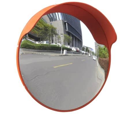 """Convex Traffic Mirror PC Plastic Orange 18"""" Outdoor"""