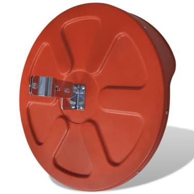 Konveksno vanjsko plastično prometno ogledalo, narančasto, 60 cm[4/5]