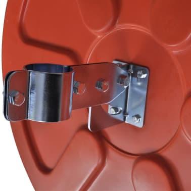 Konveksno vanjsko plastično prometno ogledalo, narančasto, 60 cm[5/5]