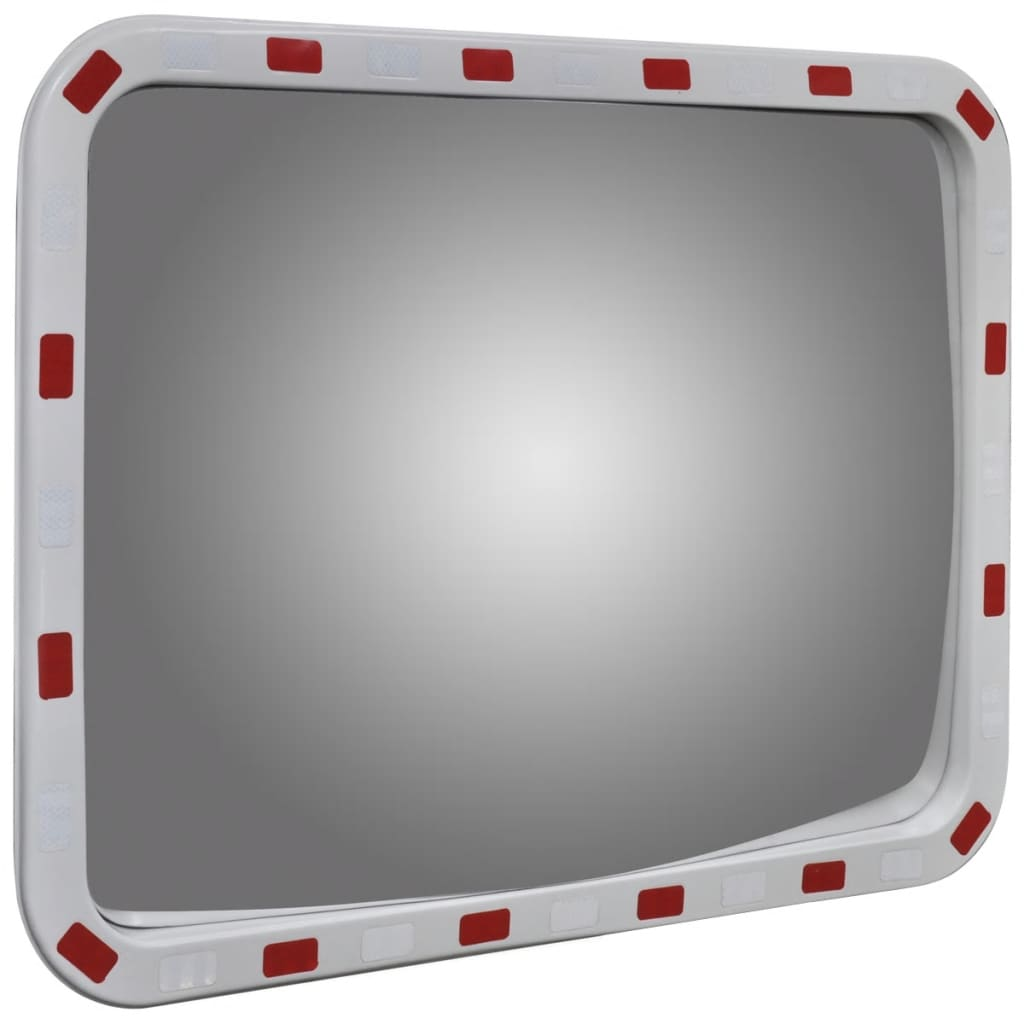 Convex traffic mirror rectangle 60 x 80 cm for Mirror 60 x 80
