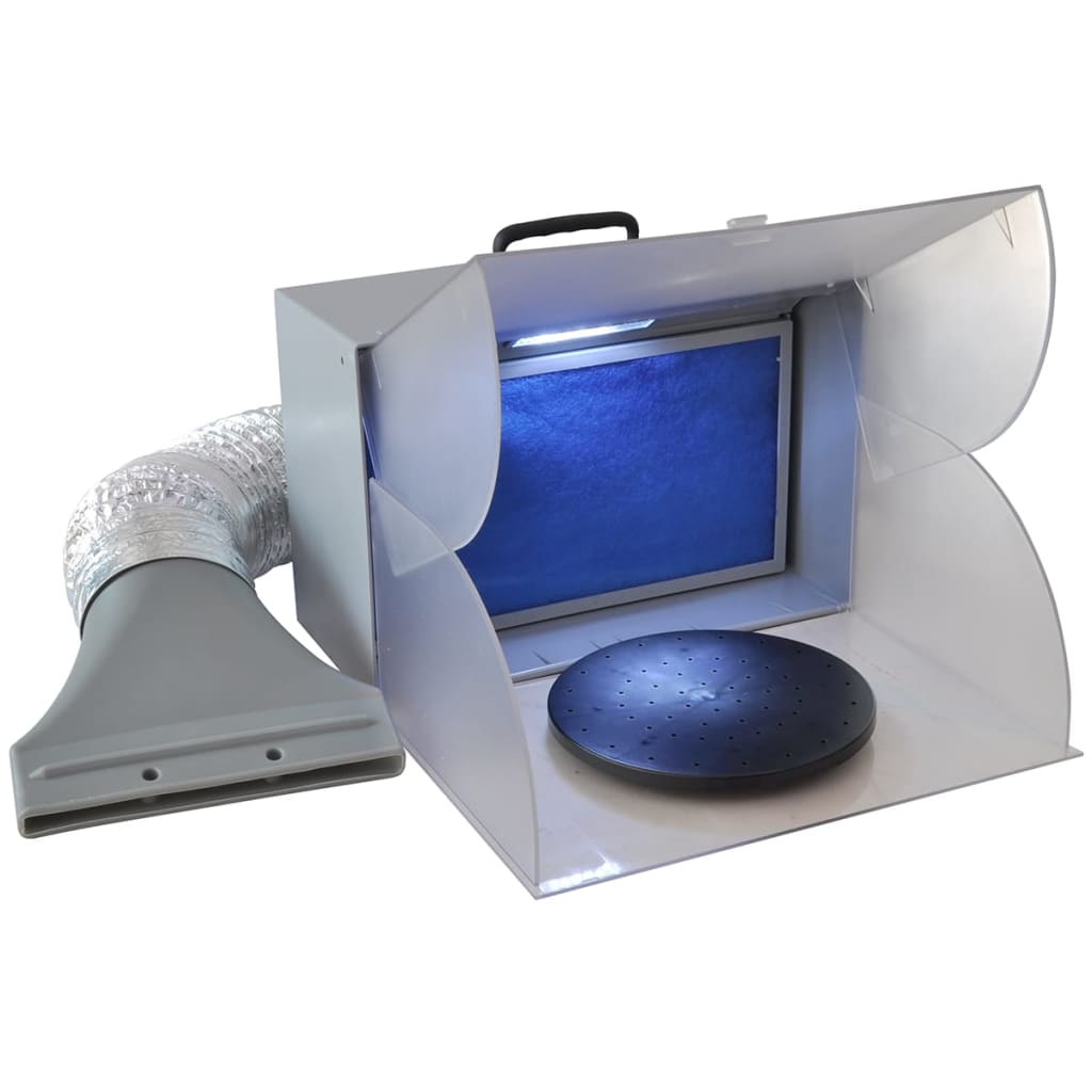 vidaXL Airbrush Spray Booth with LED