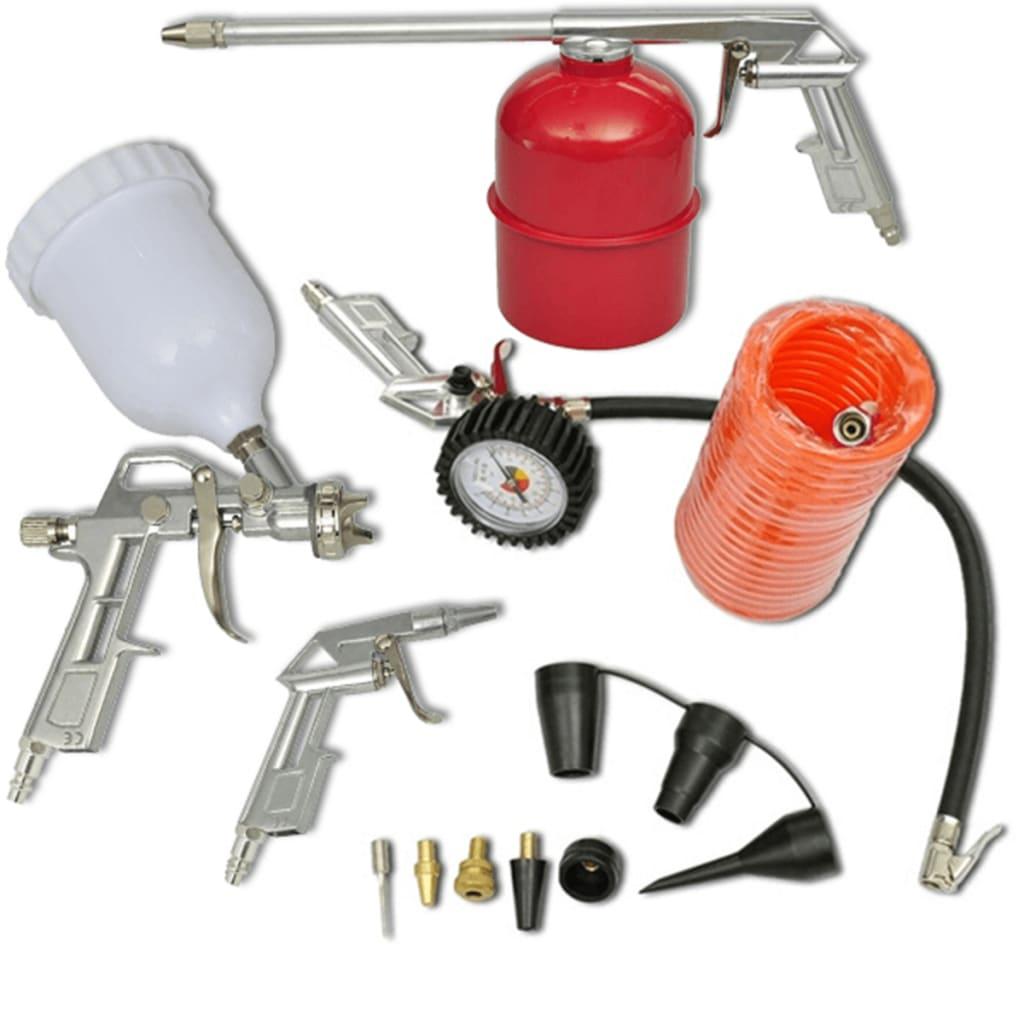 air tool set paint spray gun for compressor. Black Bedroom Furniture Sets. Home Design Ideas