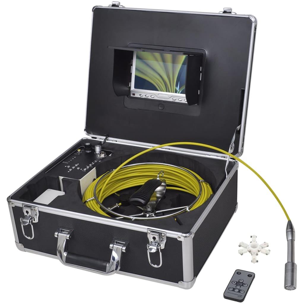 vidaXL Csővizsgáló kamera 30 m DVR vezérlő dobozzal