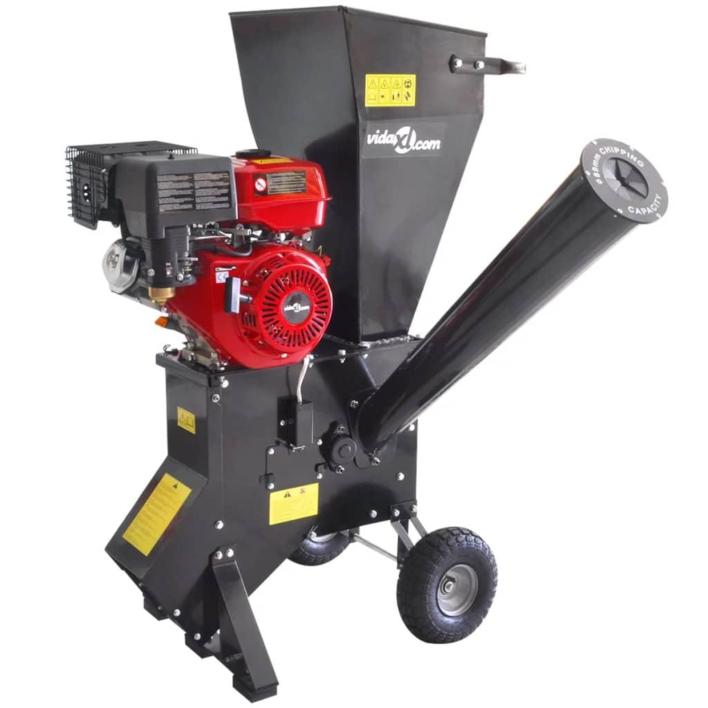 vidaXL Benzinbetriebene Holzhackmaschine mit 13 HP Motor
