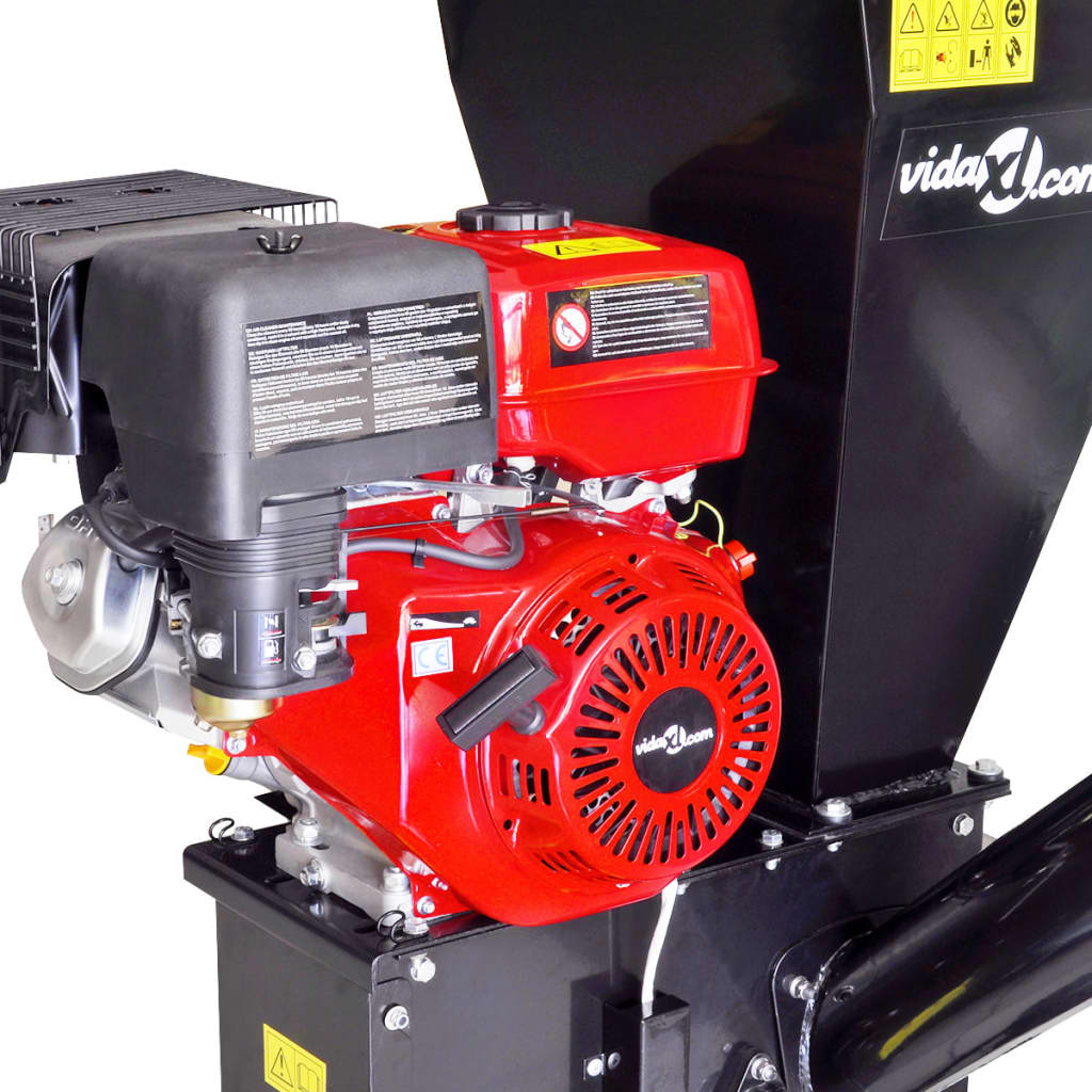 Petrol Powered Wood Chipper With 15 Hp Motor