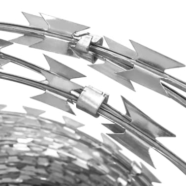 BTO-22 Clipped Concertina NATO Razor Wire Galvanised Steel 100 m[3/5]