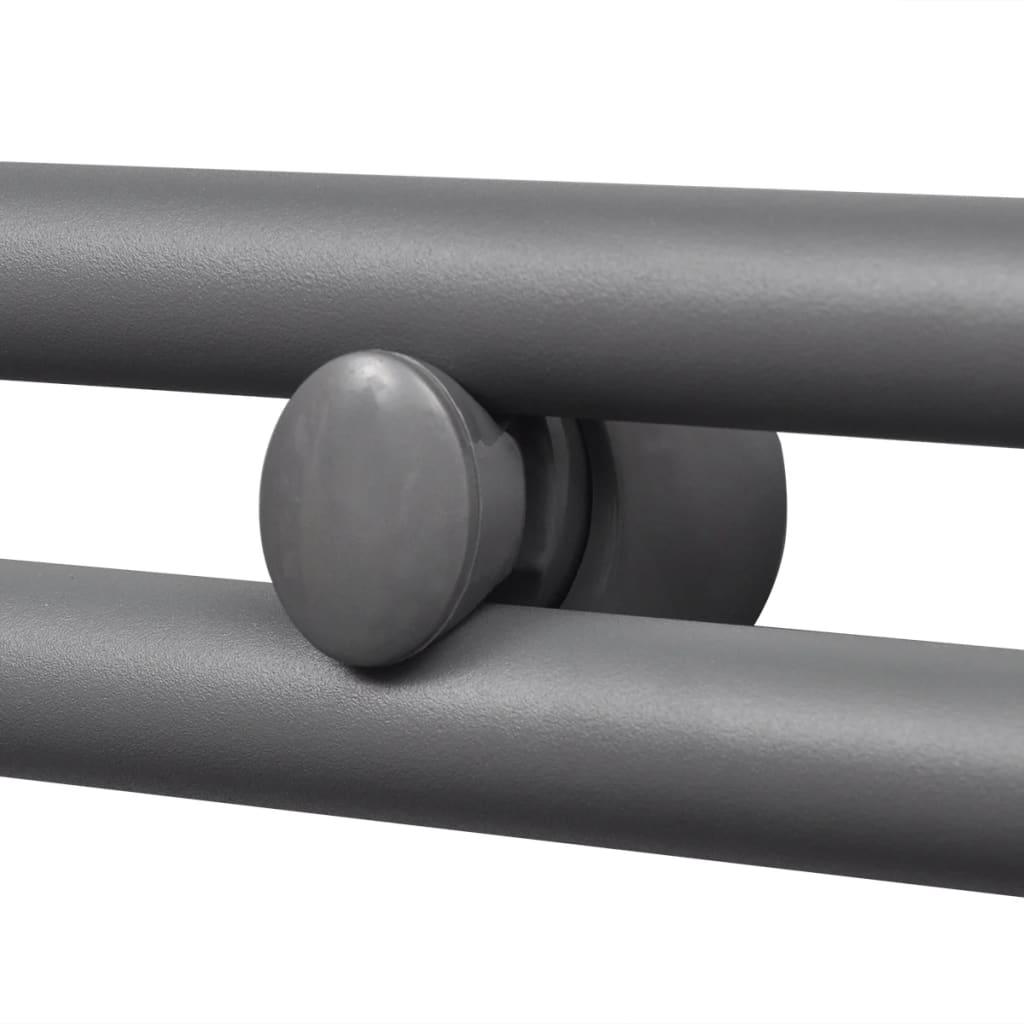 badheizk rper handtuchhalter gerade rohre grau 480 480. Black Bedroom Furniture Sets. Home Design Ideas