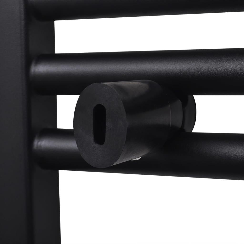 badheizk rper handtuchhalter gebogene rohre schwarz 480. Black Bedroom Furniture Sets. Home Design Ideas