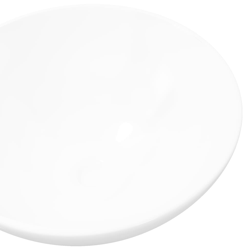 Der Keramik Waschbecken rund weiß online shop | vidaXL.de | {Waschbecken rund 44}