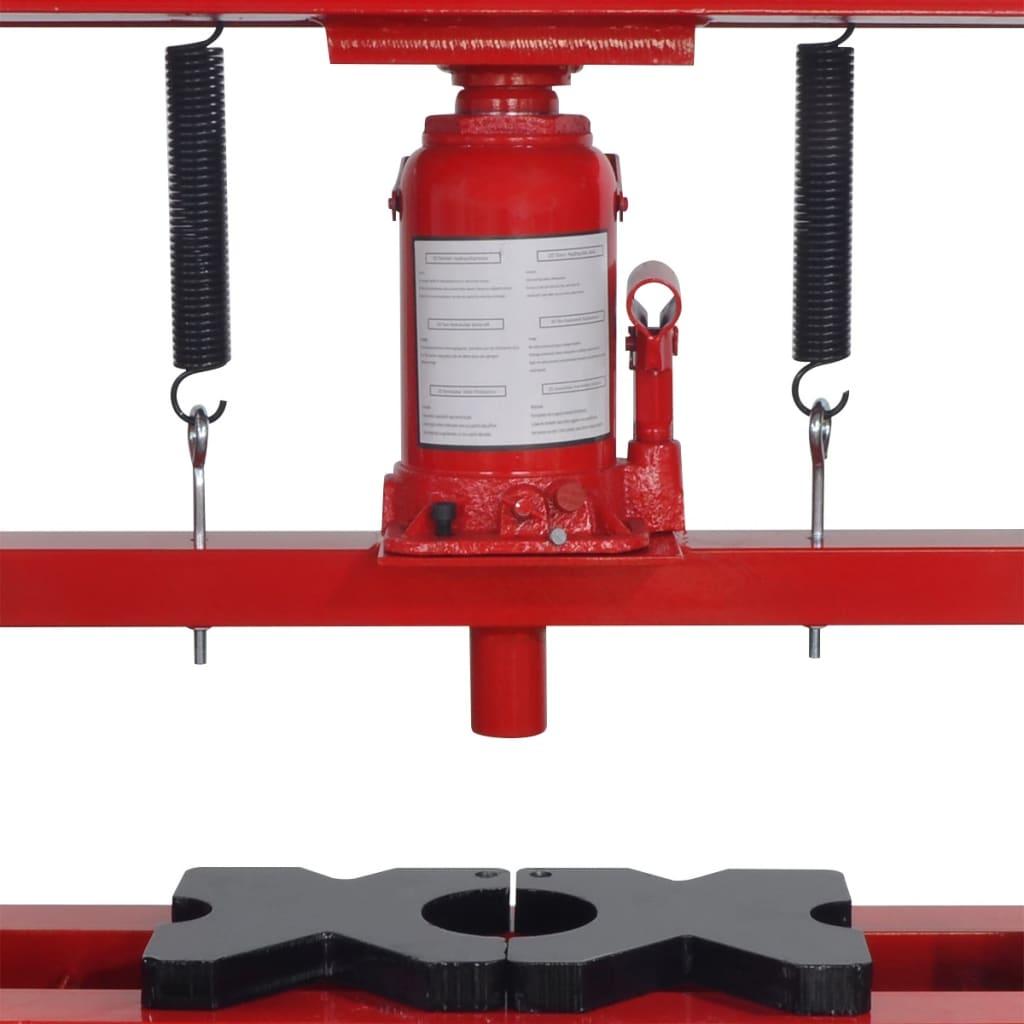 Vidaxl pressa idraulica da pavimento 20 tonellate rossa for Pressa idraulica fai da te