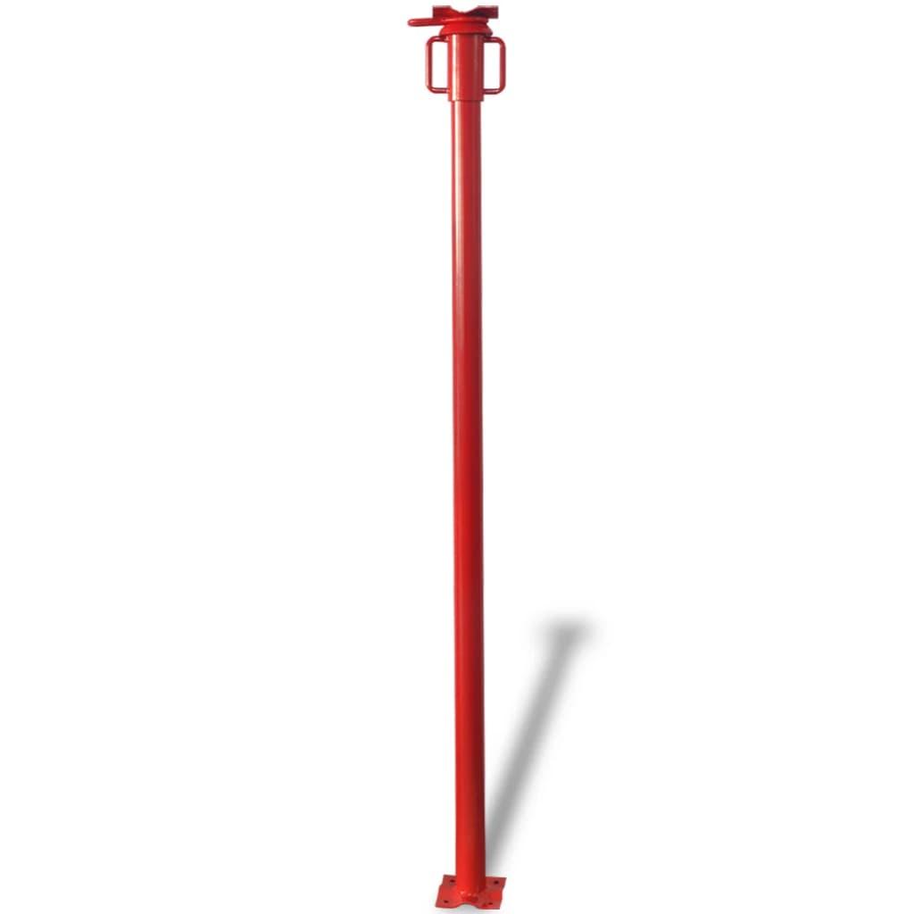 vidaXL Acrow támasztó 280 cm piros