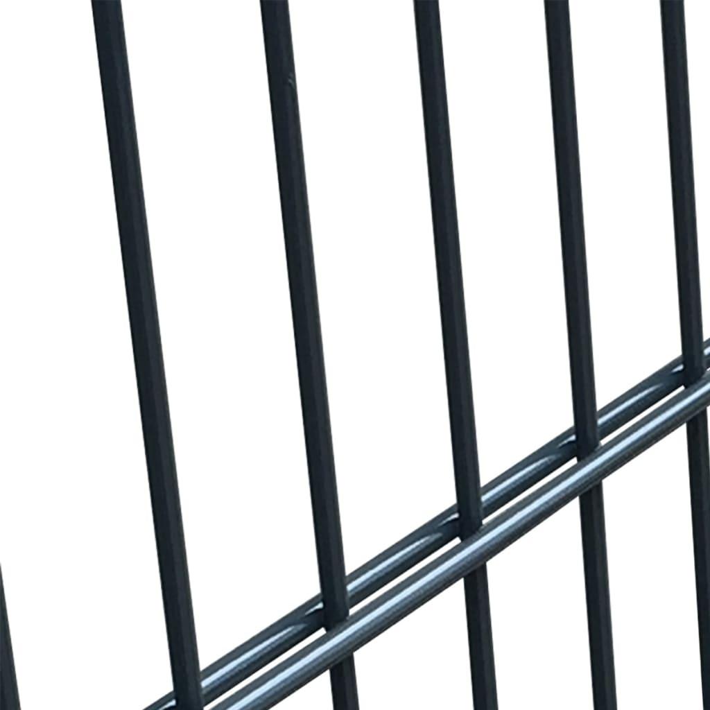Acheter vidaxl portillon acier anthracite 106 x 250 cm pas for Portillon acier