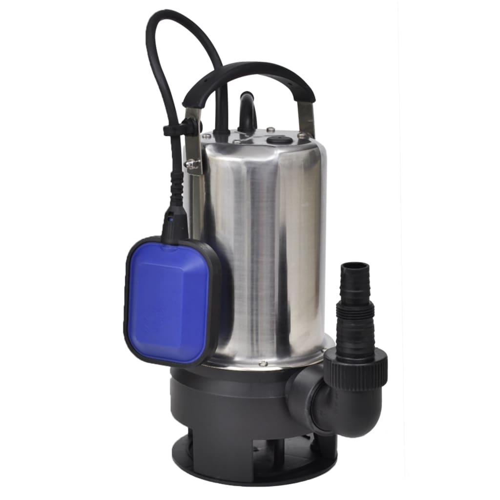 tauchpumpe schmutzwasserpumpe teichpumpe garten abwasser pumpe 750 w