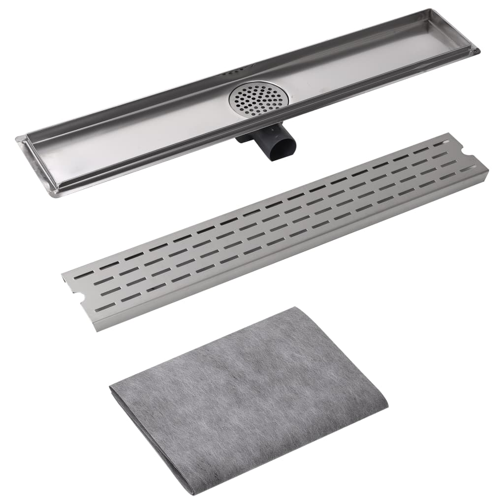 Linear-Floor-Shower-Drain-Wetroom-Bathroom-Channel-730x140-mm-Stainless-Steel