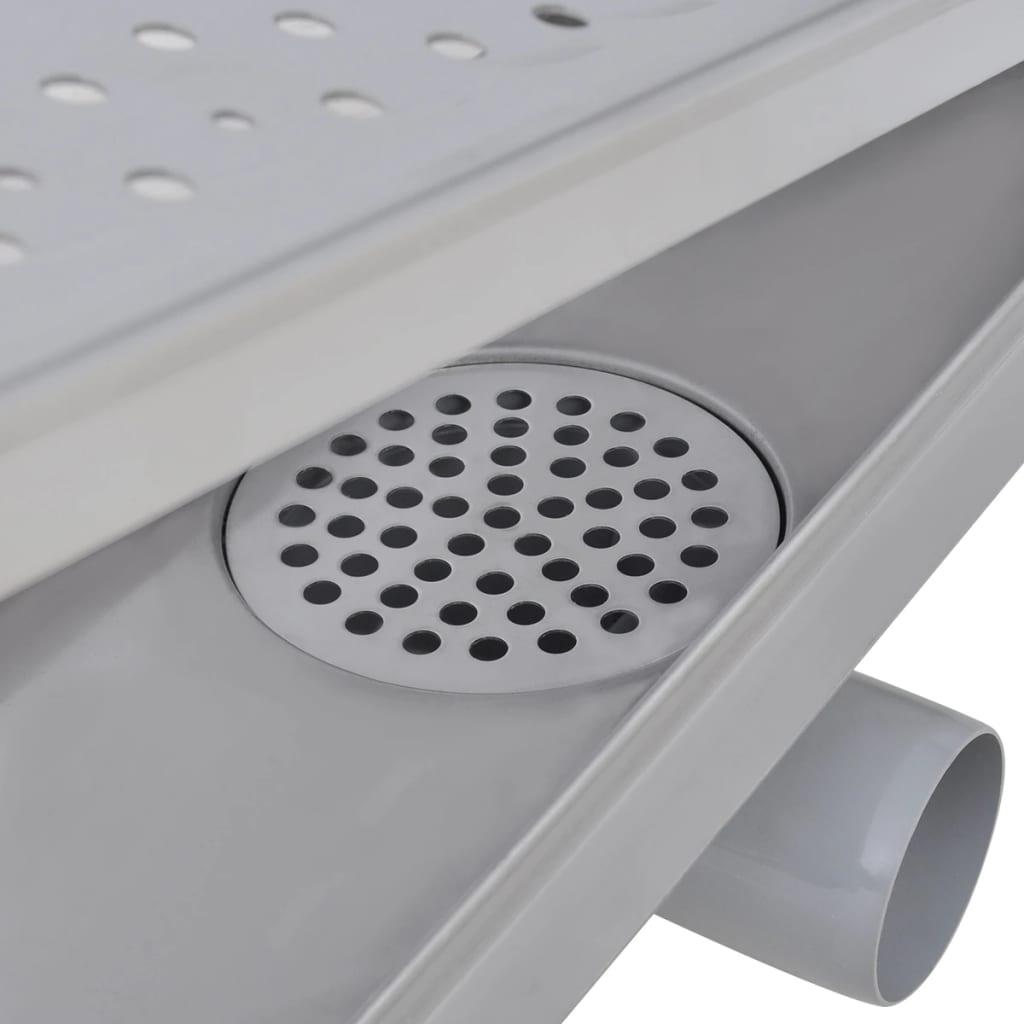 vidaXL-Desague-Lineal-Ducha-Burbuja-530x140-mm-Flujo-40-L-min-Acero-Inoxidable
