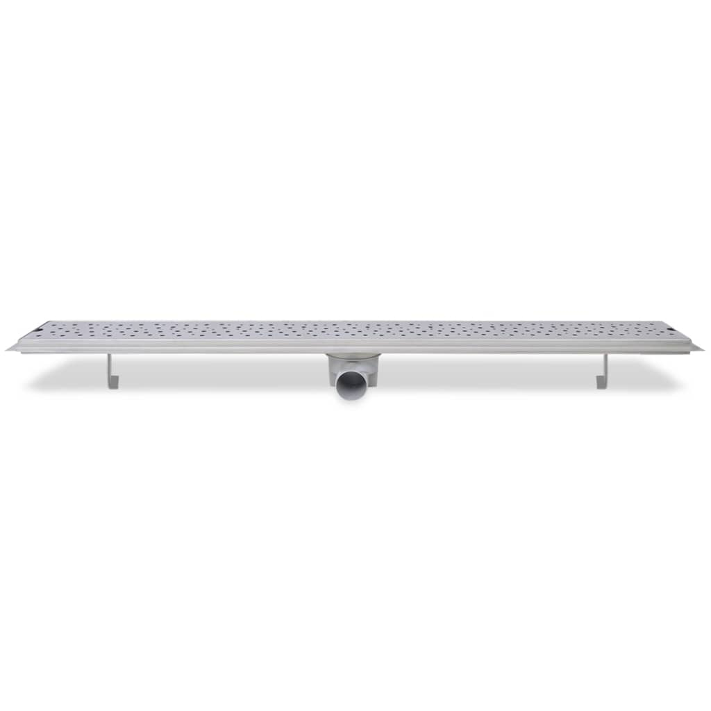 Linear-Shower-Drain-Wetroom-Bathroom-Channel-Bubble-1030x140-mm-Stainless-Steel