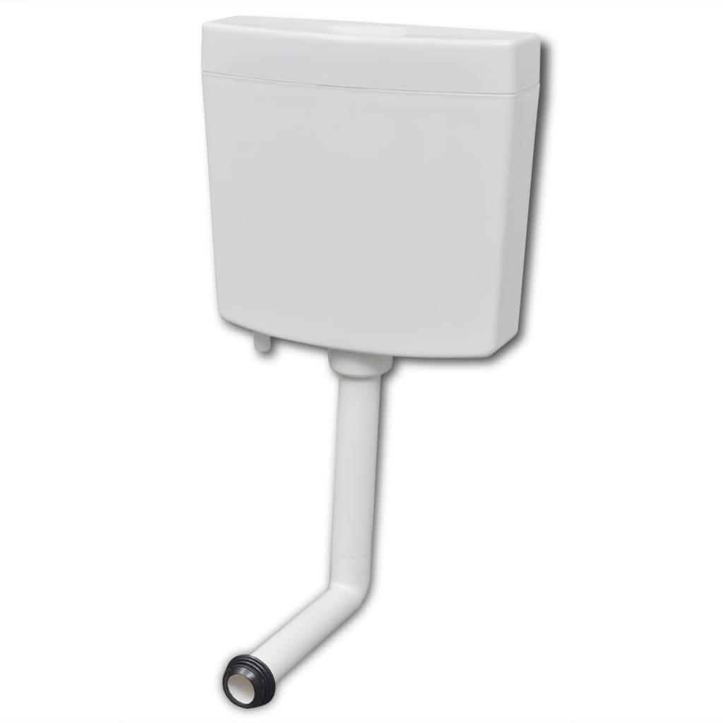 vidaXL WC tartály 3/6 L fehér