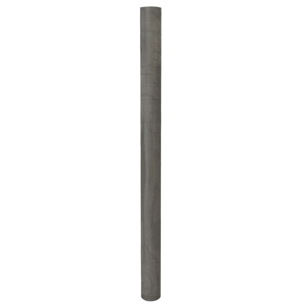 vidaXL 100x1000 cm-es rozsdamentes 202-es acél háló