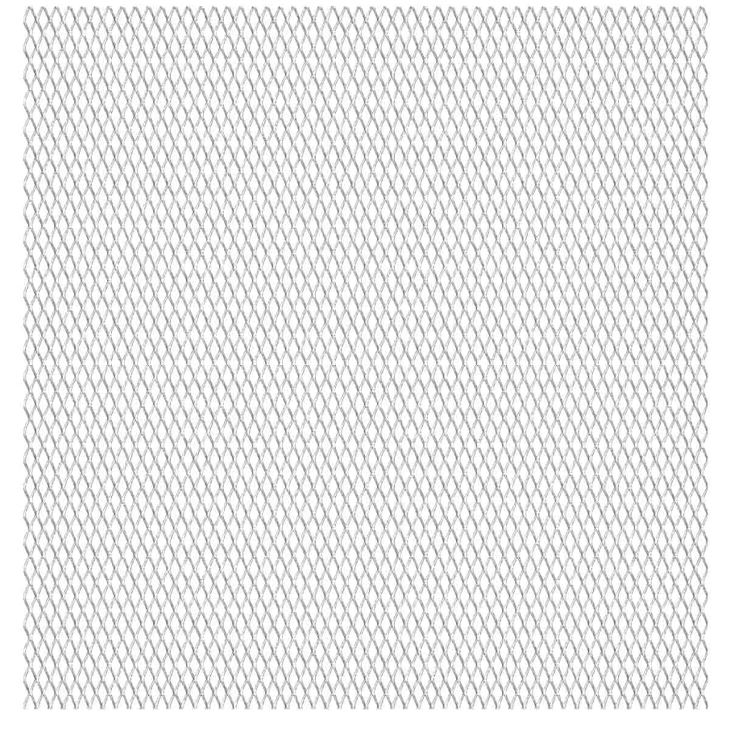 vidaXL rozsdamentes acél drótháló panel 50 x cm 30 17 2,5 mm