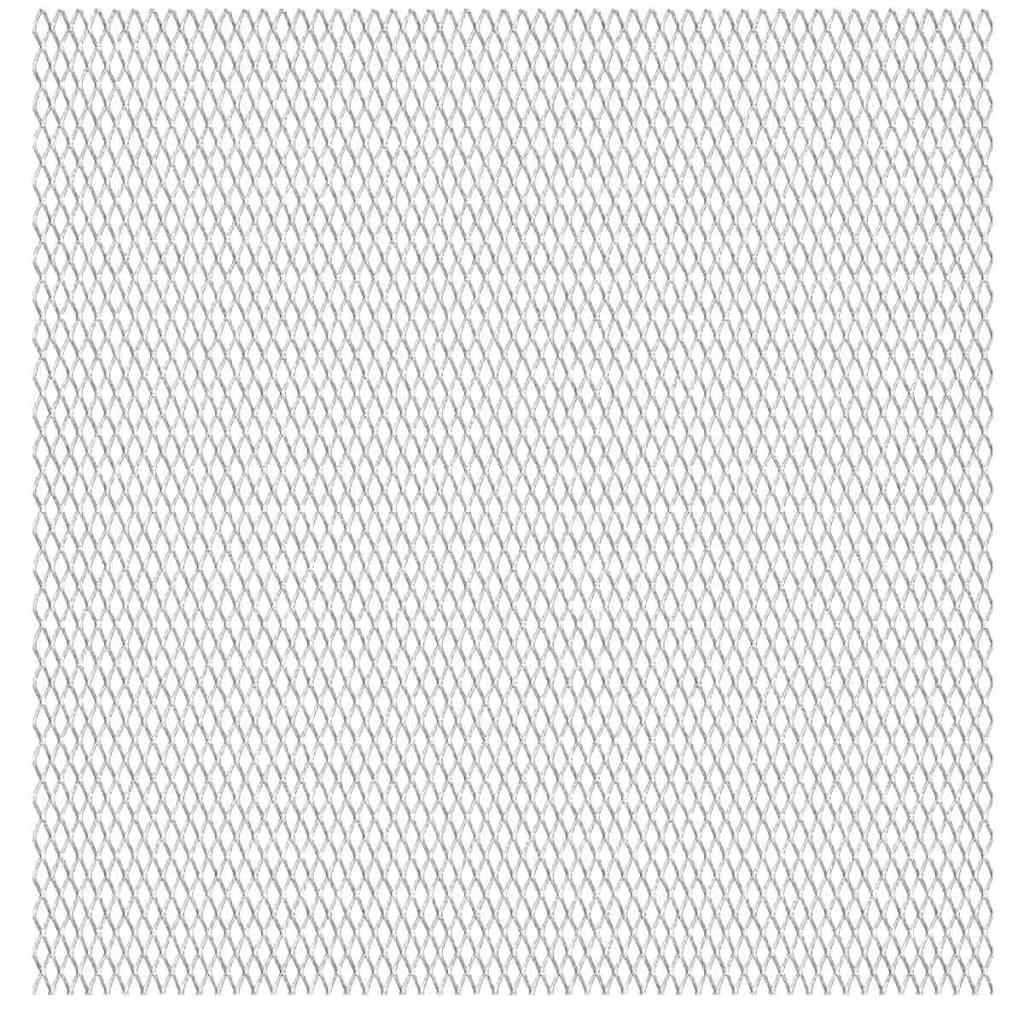 vidaXL rozsdamentes acél drótháló panel 50 x cm 45 20 4 mm