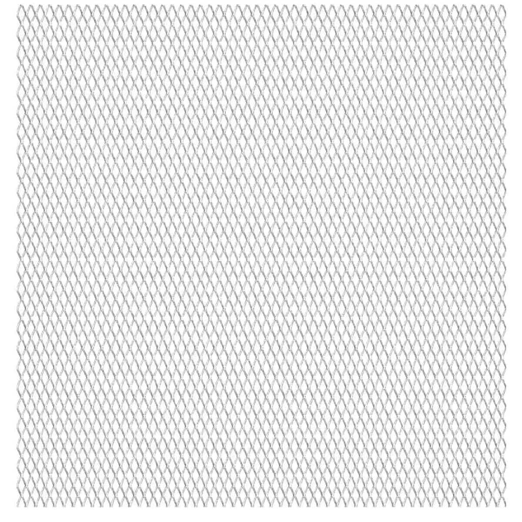 vidaXL rozsdamentes acél drótháló panel 100 x cm 45 20 4 mm