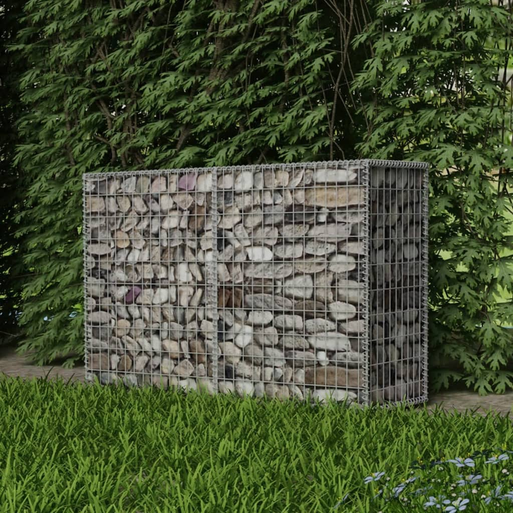 vidaXL acél gabion / kőkosár 150 x 50 100 cm