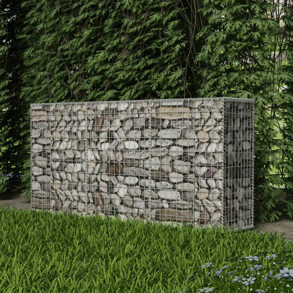 vidaxl outdoor garden patio gabion basket wire retaining wall steel multi sizes ebay. Black Bedroom Furniture Sets. Home Design Ideas