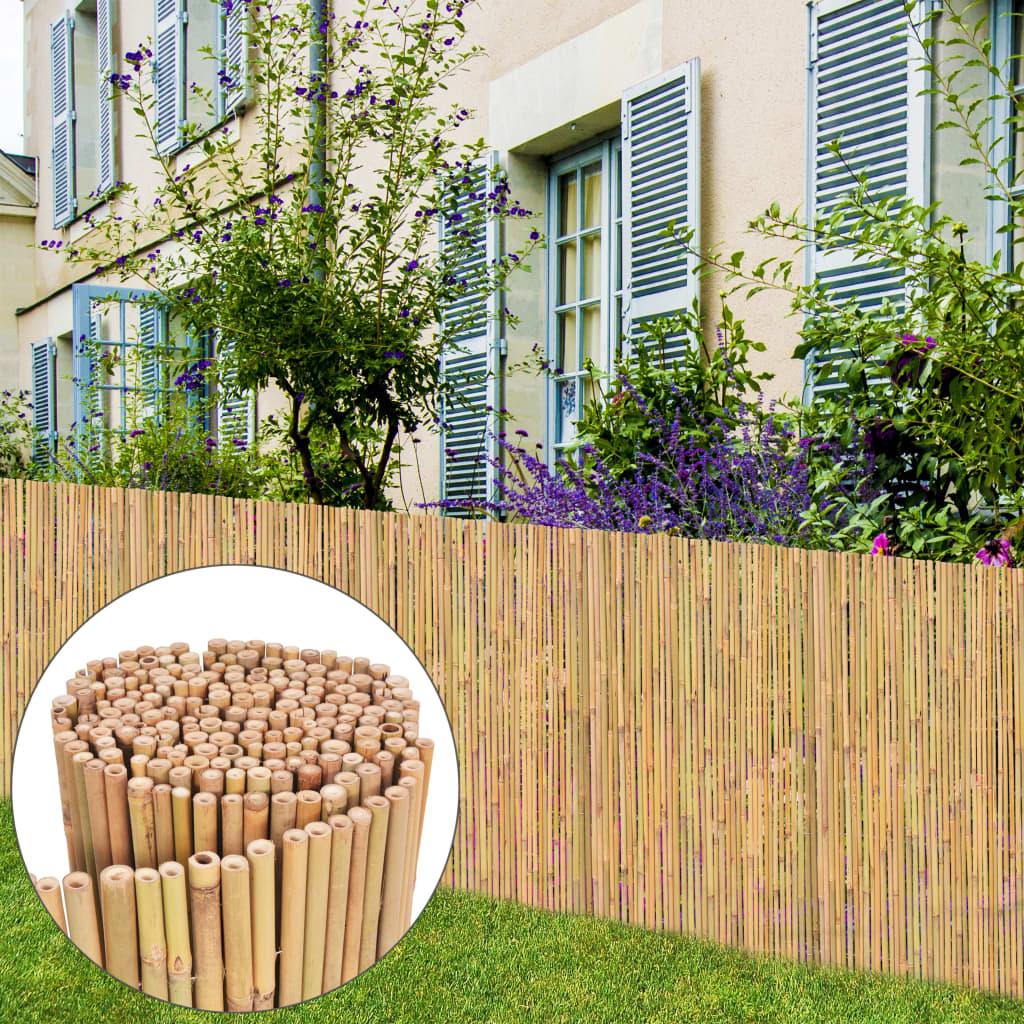 vidaXL bambusz kerti kerítés 300 x 100 cm