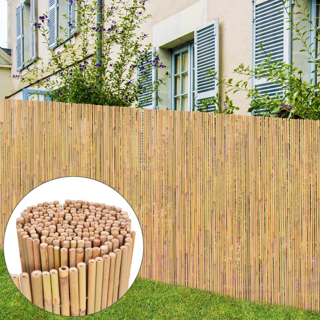 vidaXL bambusz kerti kerítés 300 x 150 cm