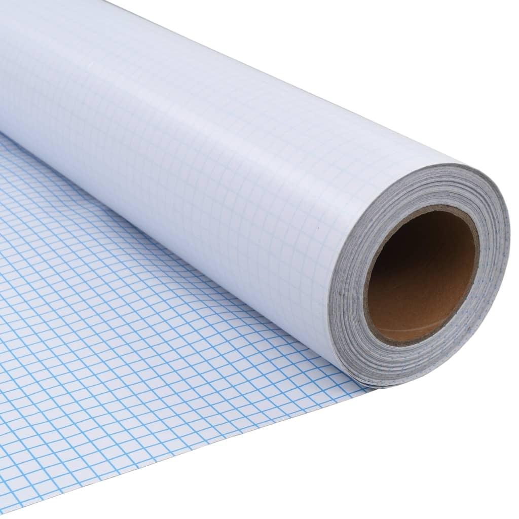 Afbeelding van vidaXL Privacyfolie mat melkglas zelfklevend 0,9x50 m