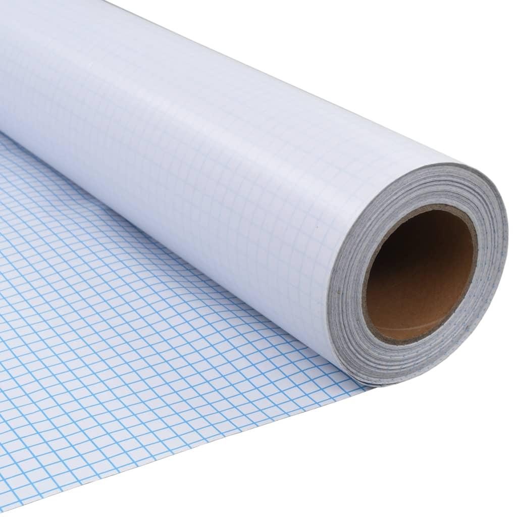Afbeelding van vidaXL Privacyfolie mat melkglas zelfklevend 0,9x100 m