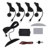 Car Parking 4 Sensors Safety System Black