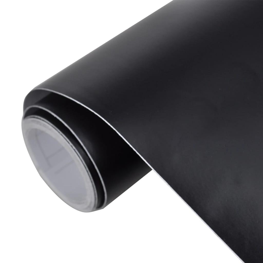 la boutique en ligne film adh sif mat noir pour voiture 500 x 152 cm. Black Bedroom Furniture Sets. Home Design Ideas