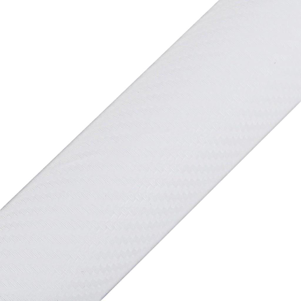 la boutique en ligne film fibre de carbone 3d vinyl blanc 152 x 200 cm pour voiture. Black Bedroom Furniture Sets. Home Design Ideas