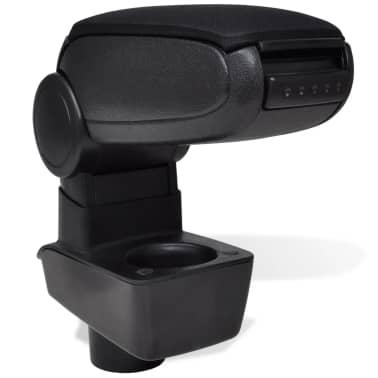 Black Car Armrest for Ford Fiesta MK7 (2009)[1/6]