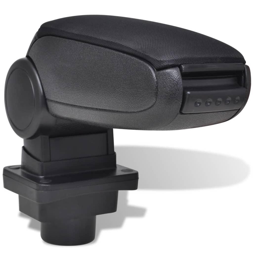 vidaXL Schwarze Autositz-Armlehne für Skoda Fabia MK1 (1999 - 2007)