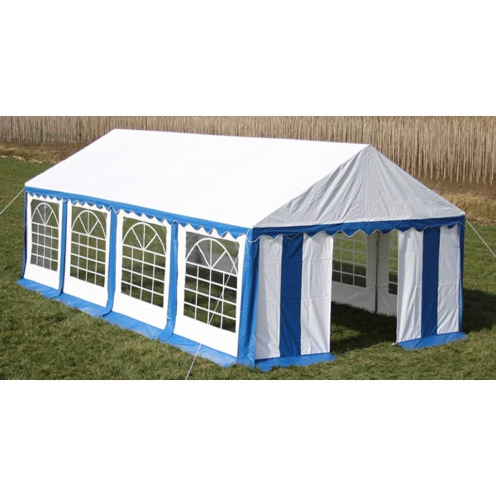 vidaXL Rendezvénysátor 4 x 8 m Kék