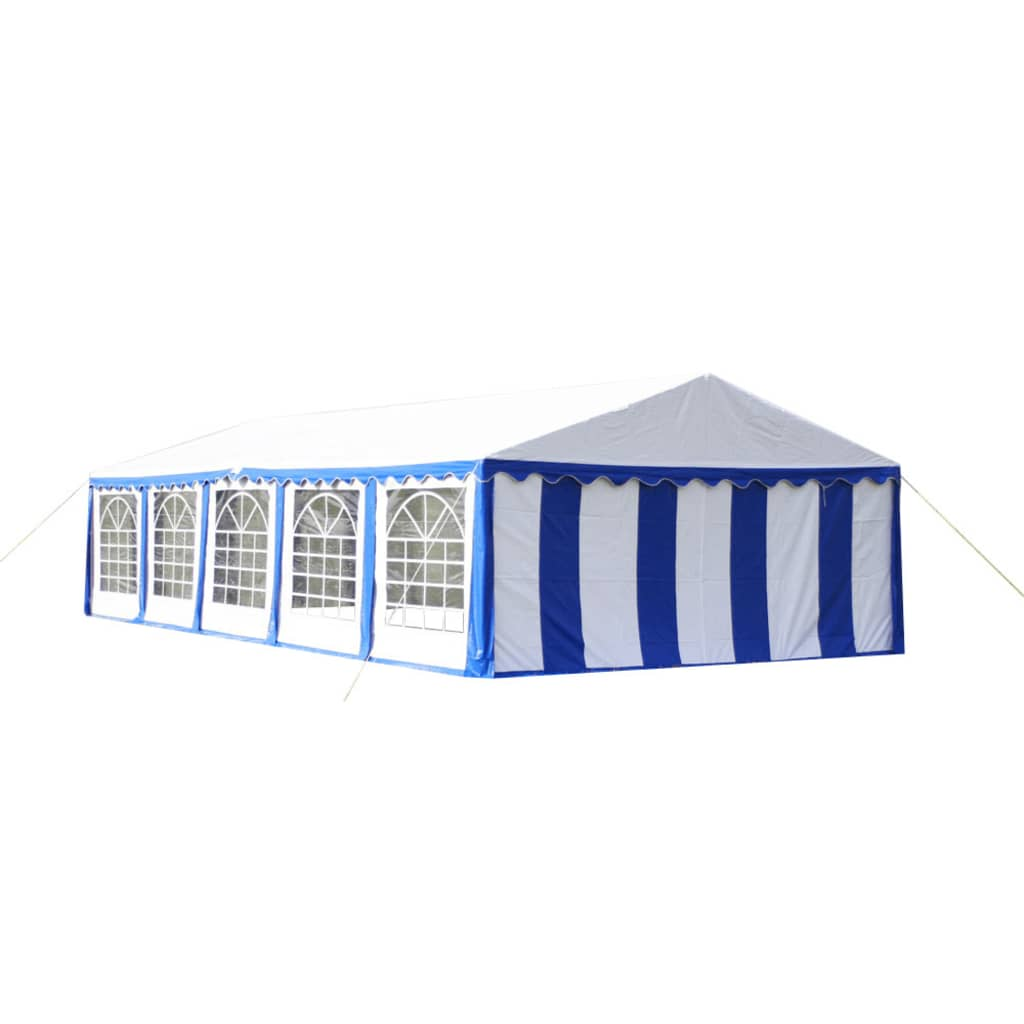 Afbeelding van vidaXL Partytent 10 x 5 PVC blauw