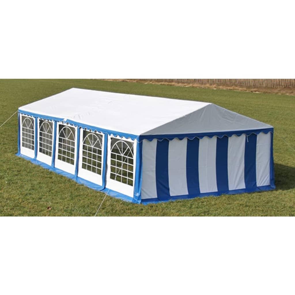 vidaXL Rendezvénysátor 10 x 5 méter kék