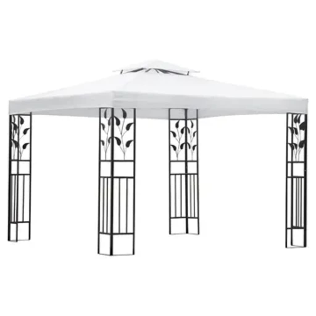 acheter vidaxl tonnelle de jardin carr e en fer forg pas. Black Bedroom Furniture Sets. Home Design Ideas