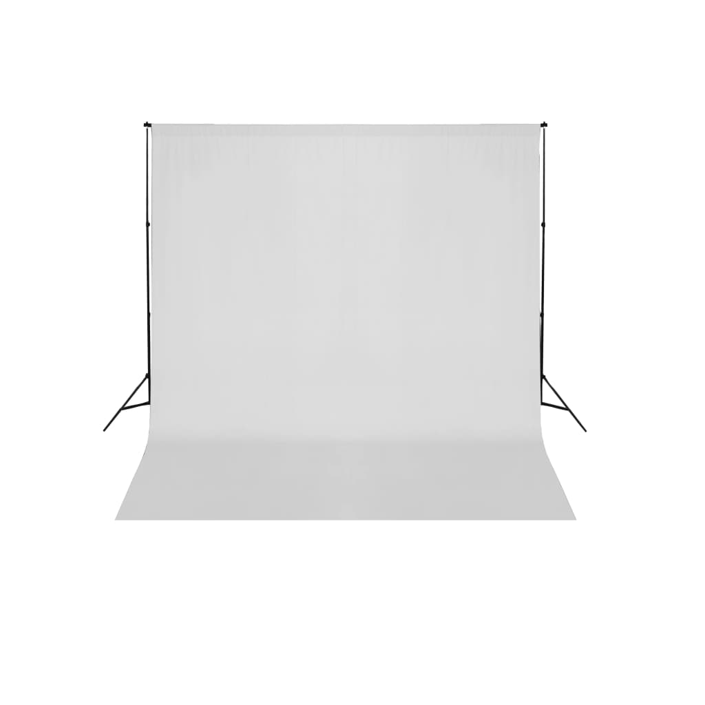 vidaXL Fehér Háttértartó Szerkezet / Háttér 600 x 300 cm