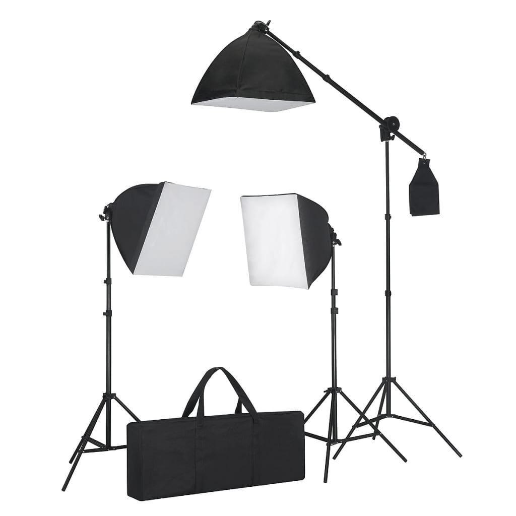 la boutique en ligne kit studio fond blanc clairage. Black Bedroom Furniture Sets. Home Design Ideas