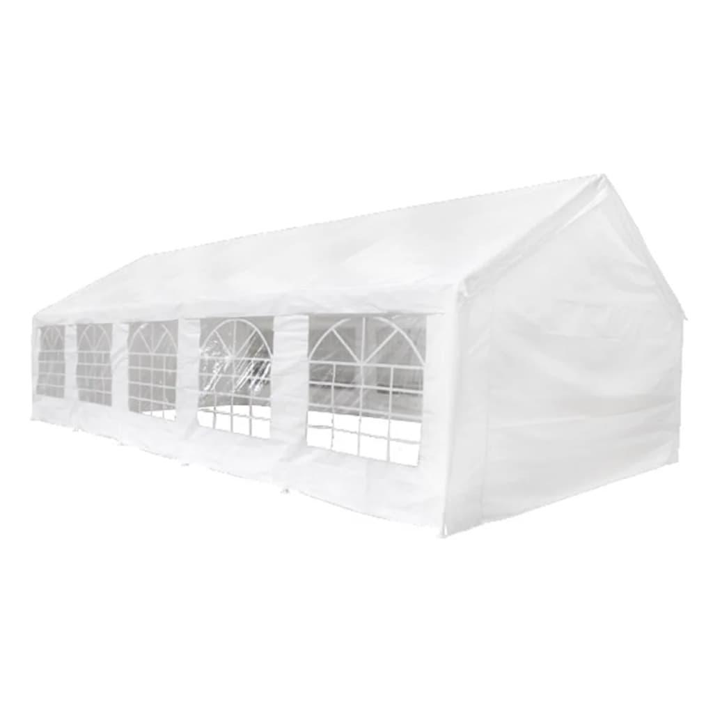 vidaXL Partyzelt 10 × 5 m Weiß