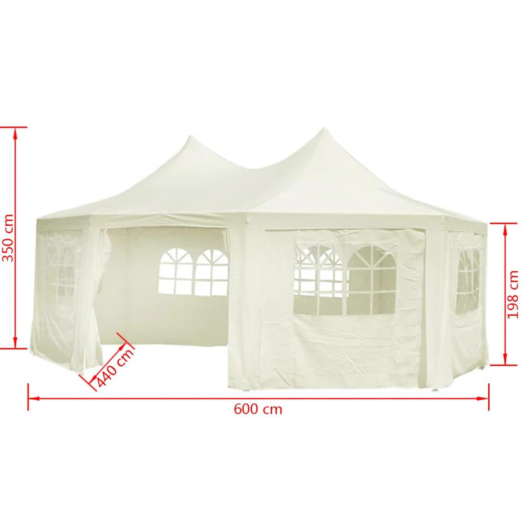pavilion octogonal pentru petreceri 6 x 4 4 x 3 5 m. Black Bedroom Furniture Sets. Home Design Ideas