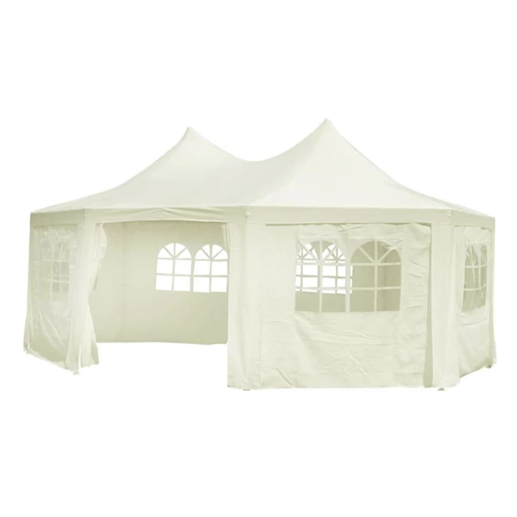 Partytent Pagode 6 x 4.4 PE creme