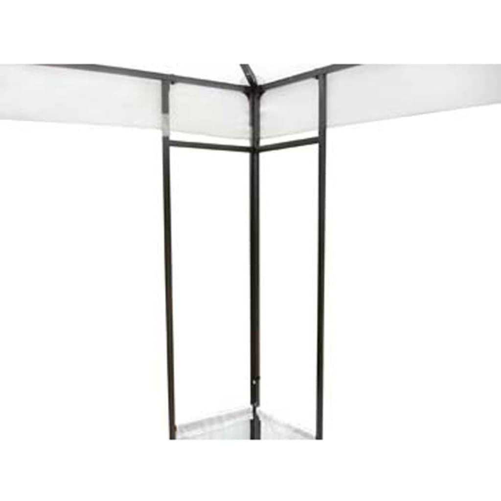 La boutique en ligne tonnelle de jardin blanche 4 x 3 m for Boutique jardin en ligne