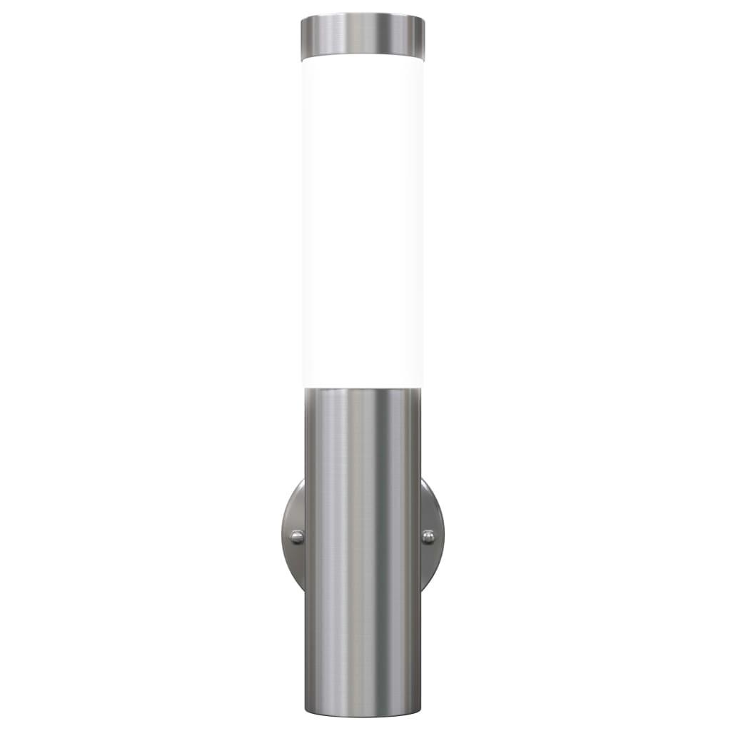 Livingandmore De vidaxl co uk 2 stainless steel waterproof wall garen lights