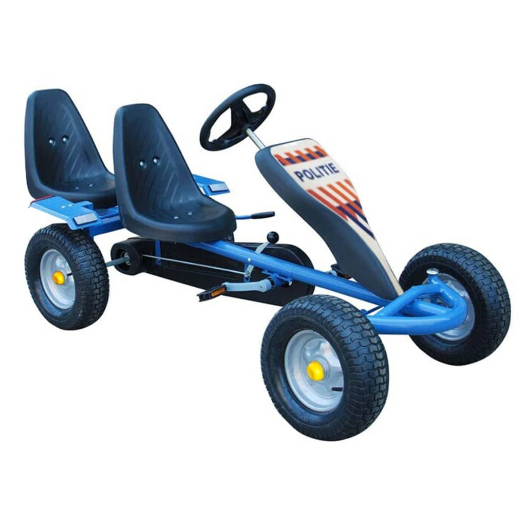 go kart cart voiture p dale gocart 2 places bleu neuf avec 2 autocollants ebay. Black Bedroom Furniture Sets. Home Design Ideas