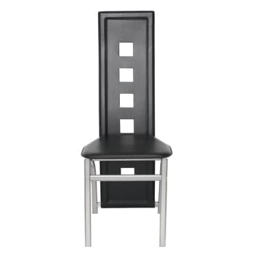 Articoli per sedie moderne cucina pranzo6 schienale alto for Sedie cucina pelle