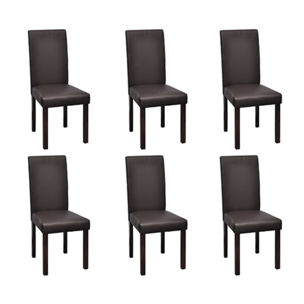 la boutique en ligne vidaxl chaises de salle manger 6. Black Bedroom Furniture Sets. Home Design Ideas